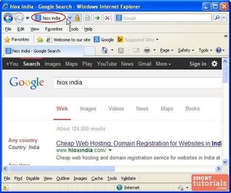 Explorer Search From Address Bar How To Search Using Address Bar In Explorer Ie Browser