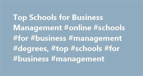 Mba In Operations Management Miami by Best 25 Operations Management Ideas On