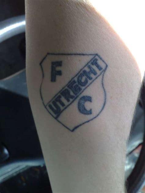 tattoo letters utrecht fc utrecht tattoo