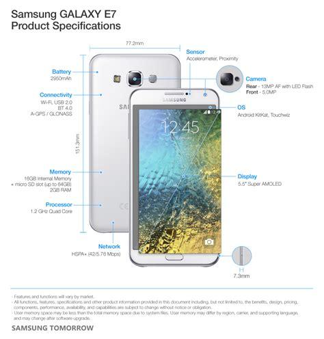 Inc Samsung Galaxy E5 samsung galaxy e5 ve e7 modellerini duyurdu