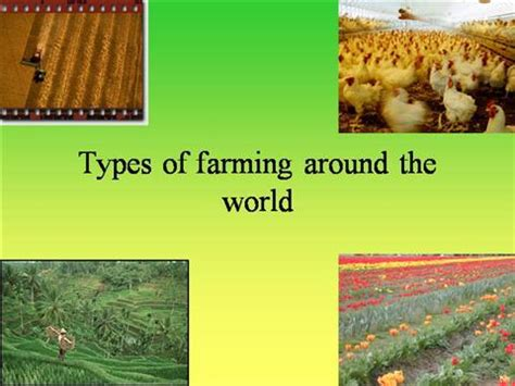 Types of Farming Around the Worldfinal  authorSTREAM