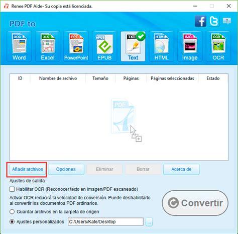 convertidor de imagenes pdf a texto programa gratis para convertir pdf a txt renee pdf aide