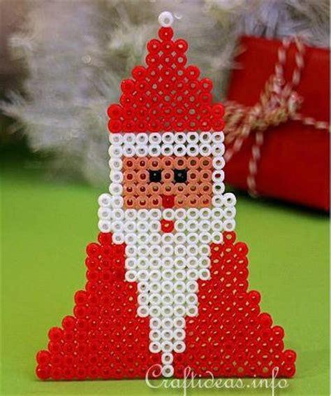 stocking perler bead pattern ornament