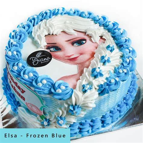 Kue Ultah Frozen Ungu kue ulang tahun anak kidz collection diana bakery
