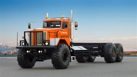 kenworth semi 2014 kenworth c500 963 semi tractor transport 6x6