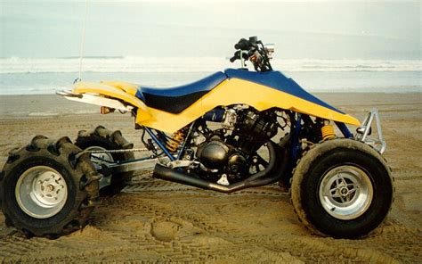 Suzuki Quadzilla I Would To Install A Streetbike Motor Into My Own