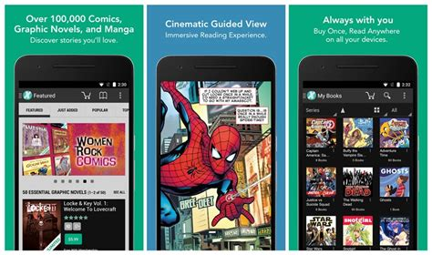 best comic reader apps for android the android soul - Best Comic Reader Android