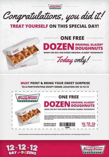 the dozen coupon code krispy kreme coupon buy one dozen original glazed