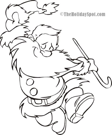 dancing santa coloring page christmas coloring book pictures to color