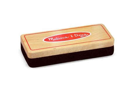 melissa amp doug felt children s chalk eraser for blackboard