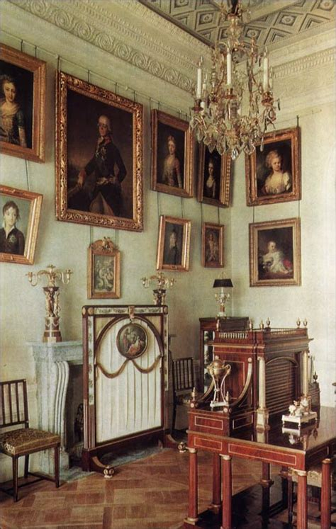 Sitting In This Room Russian by Family Sitting Room Pavlovsk Palace Park Country