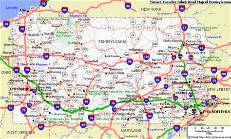 map of pa counties map of pennsylvania cities jorgeroblesforcongress