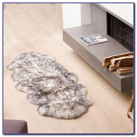 faux sheepskin area rug faux sheepskin area rug white rugs home design ideas