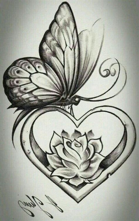 butterfly heart tattoo designs 11 best butterfly design images on