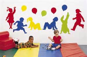 preschool wall decoration wall decals large fabric wall decals for