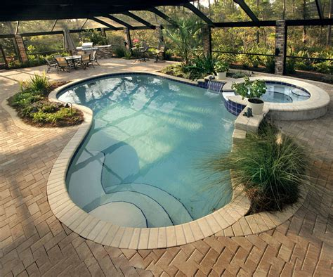 in ground pool ideas best swimming pool deck ideas