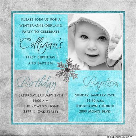 1st Birthday And Christening Baptism Invitation Sle Christening Pinterest Birthdays 1st Birthday And Christening Invitation Templates