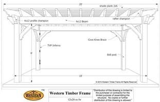 Timber Frame Pergola Plans by 12 X 20 Rich Sequoia Shadescape Diy Pergola Kit Install
