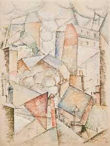 Kare Cube 1919 by Die Himmel Frankreich Ausgef 252 Hrt Fernand Leger