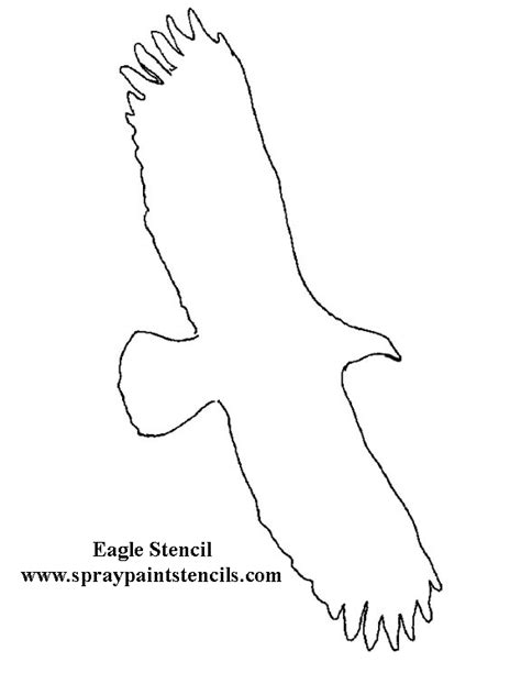 eagle template free animal stencils page 2