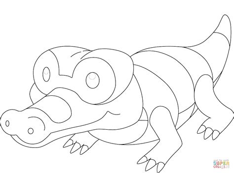 pokemon krookodile free colouring pages sandile pokemon coloring page free printable coloring pages