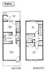 two story duplex plans