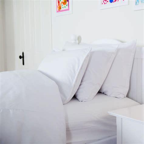 White Pillow Sham solid white pillow sham carousel designs