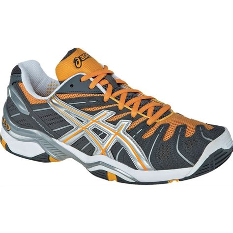 asics s gel resolution 4 tennis shoes gry org sil
