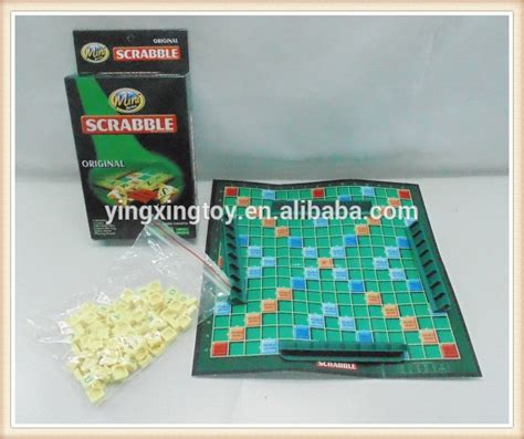 Cheap Price Small Paper Board Scrabble