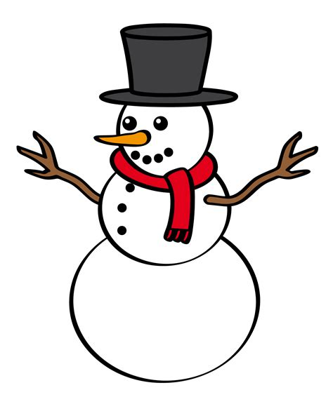 Image result for snowman clipart
