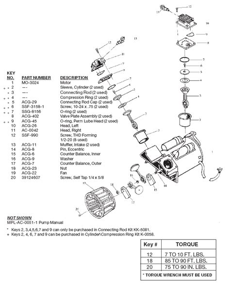 devilbiss ac 0051 and acg 4000 1 air compressor parts