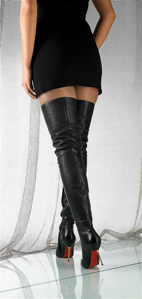 new arollo thigh high boots overknee leather boots