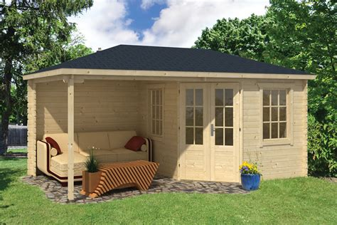Shed Plans With Porch Kennet Log Cabin With Side Porch 3 0x2 5m 2 5m
