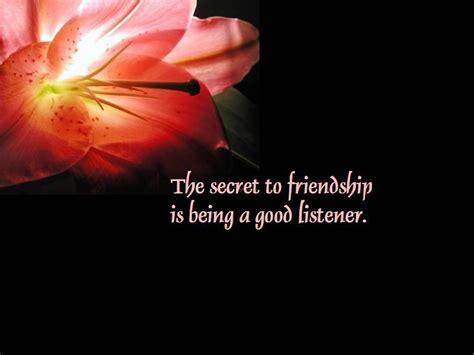quotes for secret image friendship quote the secret of friendship
