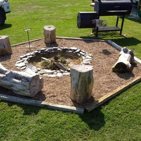building fire pit in backyard 27 surprisingly easy diy bbq fire pits anyone can make