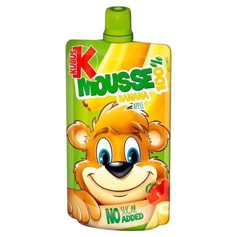 Cmic Jelly Top Kubus morrisons kubus banana apple carrot mousse 100g product information