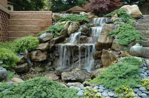 backyard pondless waterfalls pondless waterfalls aqua scapes pinterest