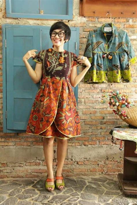 Dress Atau Daster Midi Zigzag niat pakai dress batik tapi dibilang mirip daster cek