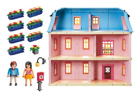play mobile doll house deluxe dollhouse 5303 playmobil 174 united kingdom