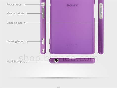 Sony Xperia Z1 Simplism Ultra Thin Cover Hardcase Bumper Armor Casing simplism ultra thin cover set for sony xperia z1