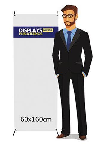X Banner 60x160cm x banner barato display publicitario low cost 60x160cm