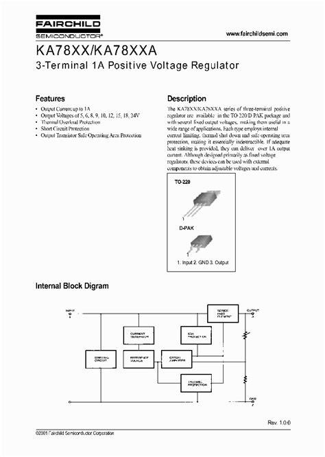 Ka7818 To 220 7812 245583 pdf datasheet ic on line