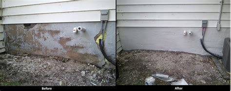 poured cement wall repair and stucco home improvement winnipeg concrete stucco repair
