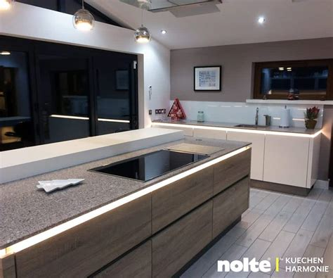 modern kitchen island design kuechen harmonie