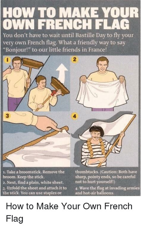 how to make your own flag you don t to wait until bastille day to fly your own