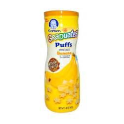 jual gerber graduates puffs banana snack bayi harga kualitas terjamin blibli