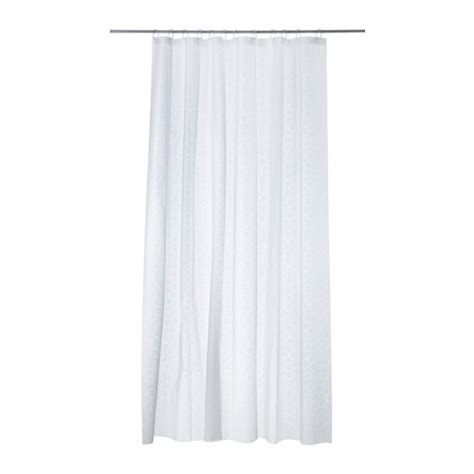 Ikea White Curtains Innaren Shower Curtain Ikea