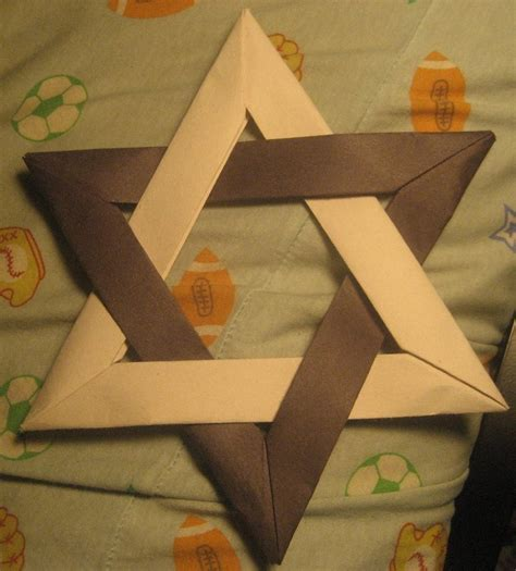 How To Make An Origami Of David - origami of david 2 by musicmixer112 on deviantart