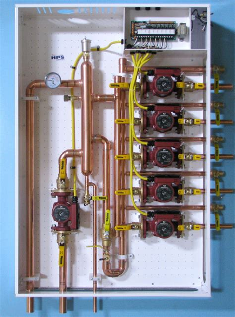 low loss header design guide quot new quot primary secondary hydronic panel using a low loss