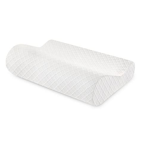 Contour Bed Pillow | buy therapedic 174 classic contour bed pillow from bed bath